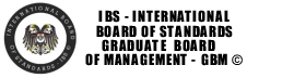CERTIFIED MANAGEMENT ANALYST MANAGEMENT CONSULTANT INTERNATIONAL BOARD OF STANDARDS GRADUATE MANAGEMENT BOARD ACCREDITATION SOCIETY