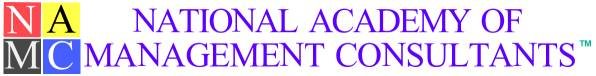 NATIONAL ACADEMY OF CERTIFIED MANAGEMENT CONSULTANTS