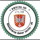 Omicron Chi OX Honor Society International business